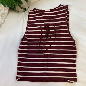 Summer laced tank top